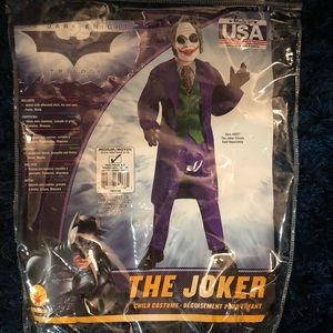 Dark Knight Joker costume size M 8-10
